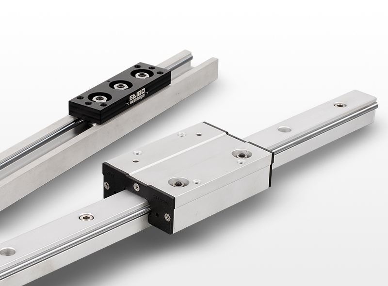 Roller wheel linear guide