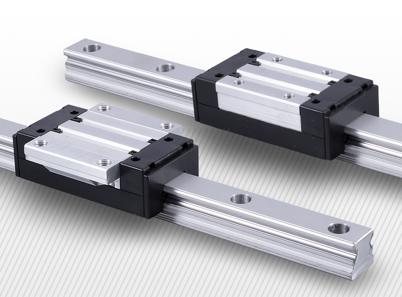 ALUMINUM LINEAR RAILS AND BLOCKS