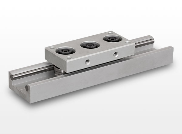 LGB and CI type roller wheel linear guides