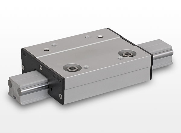 LGA type linear guide with roller bearings