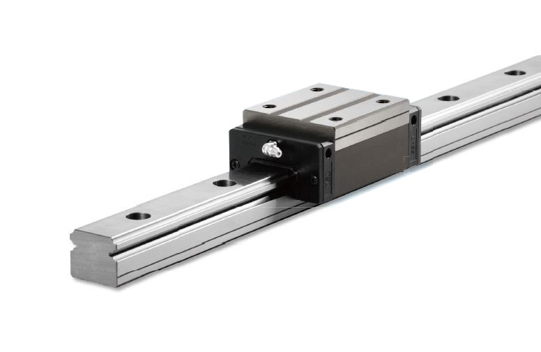 NSK linear guide rails with balls