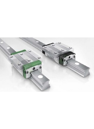 KWVE and TKVD linear guide rail system INA - Four-row