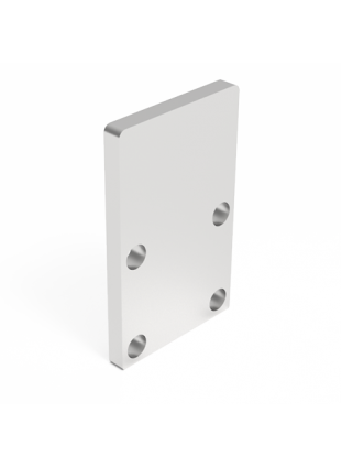 Profile end plate