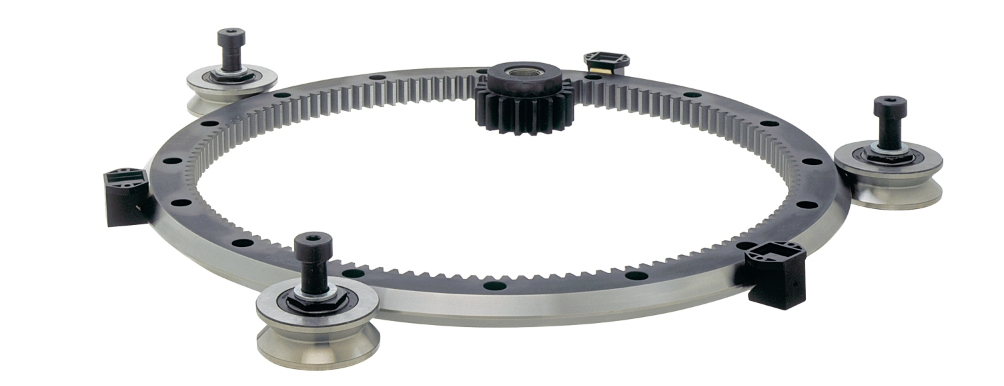 HDRT Heavy Duty Ring Guides and Track Systems Hepcomotion