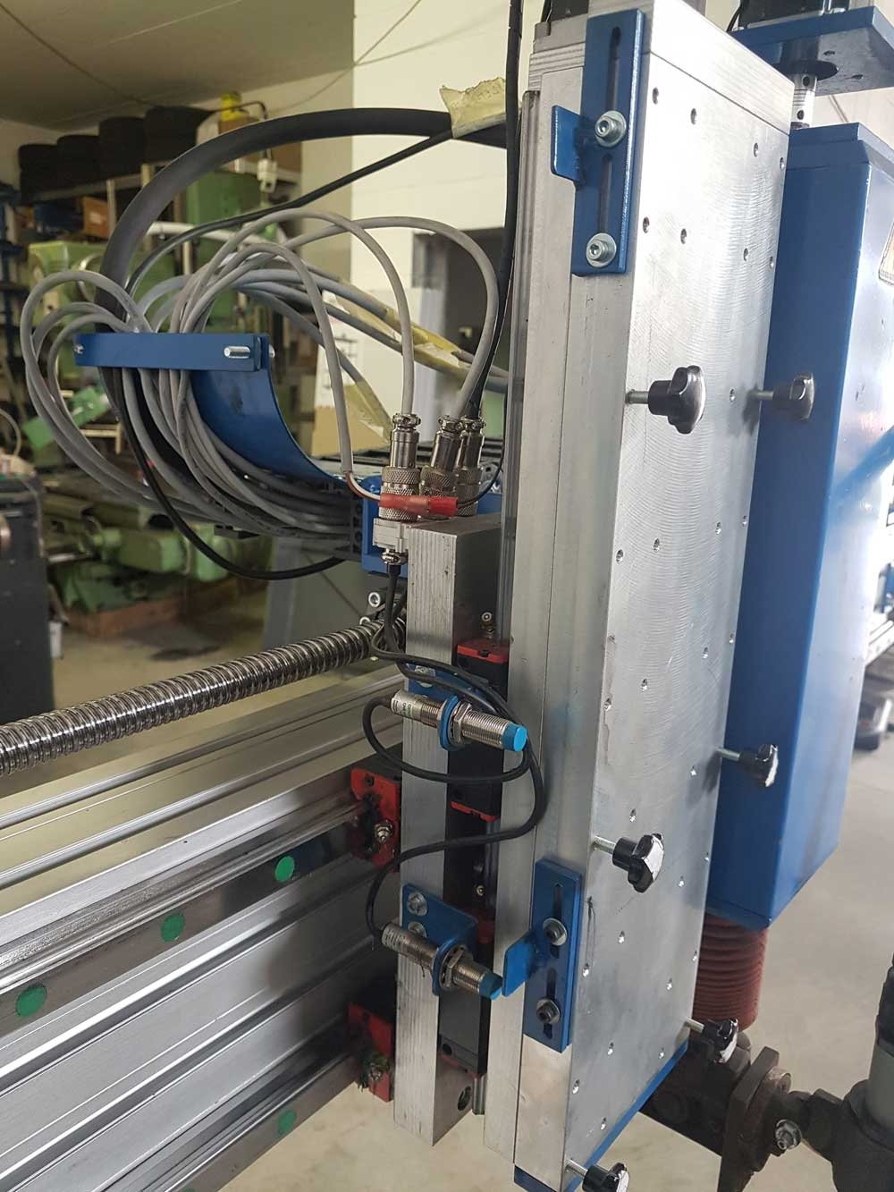 linear guides Z axis