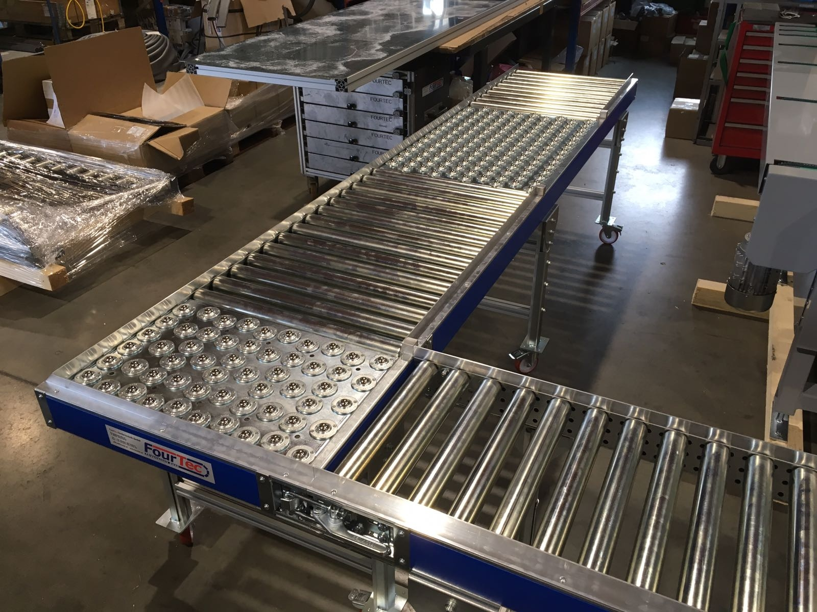 ball transfer units for conveyors and ball tables