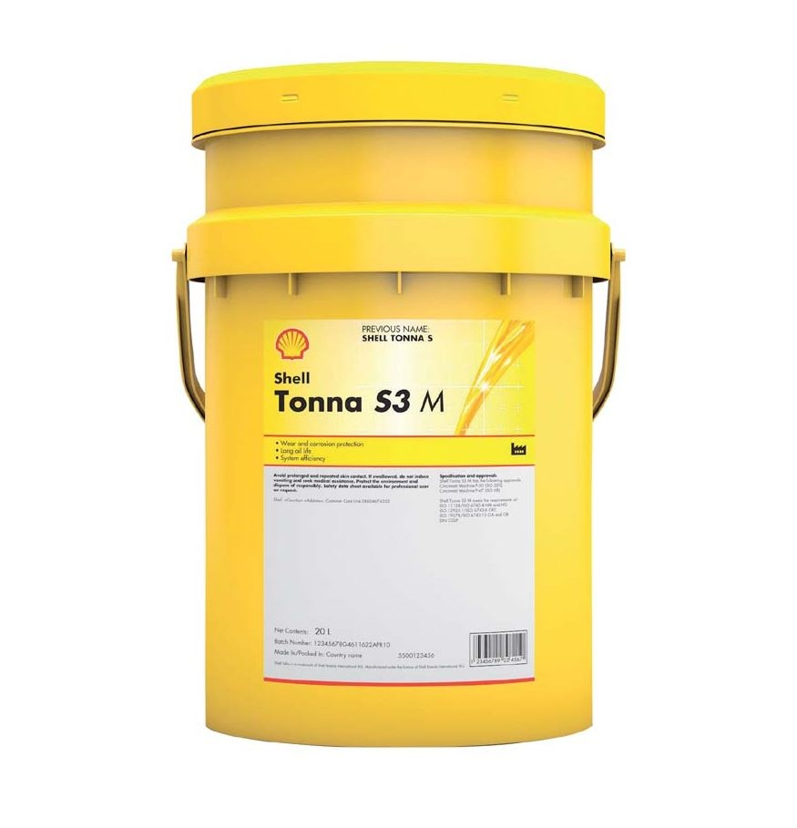 Shell Tonna S3 M 220 - oil lubricant for linear motion products - 20l